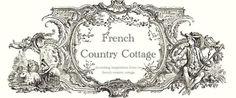 FRENCH COUNTRY COTTAGE for kitchen makeover.  Love open shelves and drop cloth curtains to cover pots/pans area
