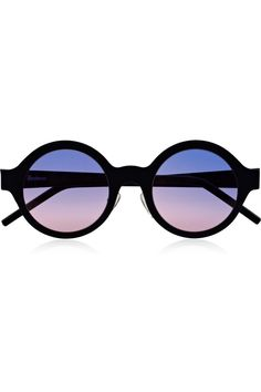 f439876a2f6 Illesteva - Frieda round-frame matte-steel sunglasses