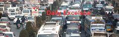 Massive traffic jam on Srinagar streets as normal life resumes Excelsior/Shakeel-ul-Rehman
