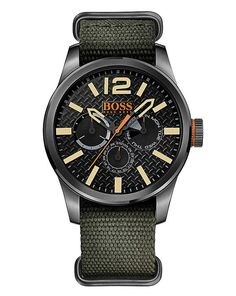 nice Buy Boss Orange Gents Khaki Strap Watch for £119.00 just added...