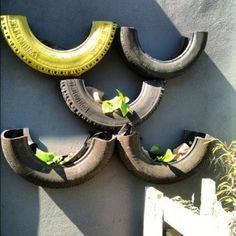 more tire planters