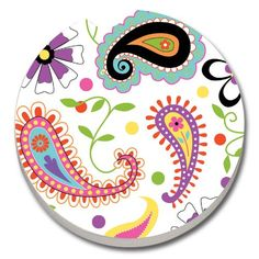 Akola Paisley Car Coaster Counter Art by Creative Ventures https://www.amazon.com/dp/B00I9CKJMK/ref=cm_sw_r_pi_dp_x_Ewpfyb9WJ0XNS