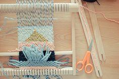 Ateliers tissage chez Fifi joli pois
