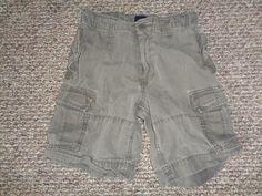 Gap Kids NWT Boys Green Camo Logo Fleece Knit Shorts M 8 L 10 XL 12 $25