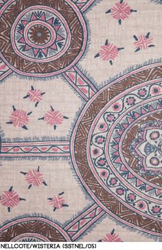 Nellcote in Wisteria from Schuyler Samperton Textiles