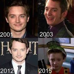 "The curious case of Elijah Wood. | 26 Things All ""Back To The Future"" Fans Will Find Funny"