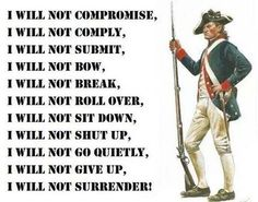 Always ready to defend our Constitution, liberties, and free market, family values, defence!