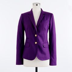 Auliné Collection Women's Casual Work Solid Candy Color Blazer ...