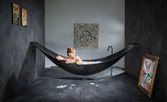 bañera colgante