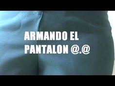 Clase 27 Corte y Confección, ARMADO DE PANTALON DAMA EN TELA - YouTube