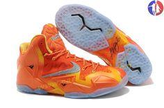 "promo code 273df d285e Discover the Nike LeBron 11 ""Forging Iron"" Urban Orange Light Armory Blue-Laser  Orange Top Deals group at Footlocker. Shop Nike LeBron 11 ""Forging Iron"" ..."