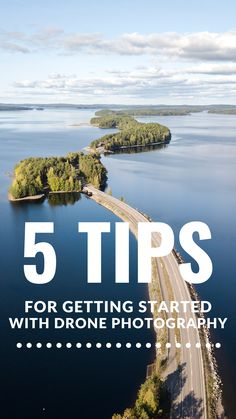 Read 5 basic things you need to think about when starting drone photography. Hobby Photography, Drone Photography, Wow Factor, Drones, Get Started, Digital Camera, Tips, Digital Camo, Digital Cameras
