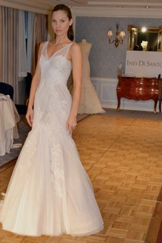 Simply stunning wedding dress by @Ines Di Santo #exclusive #bridal #perfection