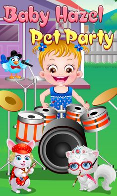 Baby Hazel is organizing a small party for her lovely pets. She has also invited her friends with their pets. Enjoy the fun activities performed by the pets during the celebrations. https://play.google.com/store/apps/details?id=air.org.axisentertainment.BabyHazelPetParty
