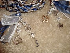 DIY handfasting cords with beads and charms