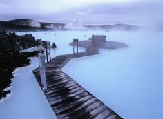 Places to see before you die (II) - The Blue Lagoon, Iceland Pamukkale, Oh The Places You'll Go, Places To Visit, Blue Lagoon, Iceland, Norway, To Go, Around The Worlds, River