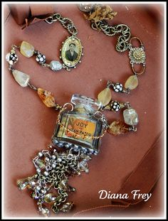 Joy Filled Dreams Necklace by Diana Frey, via Flickr ~ I wore this scent back in the 70s!