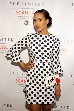 "Kerry Washington DAZZLES At ""Scandal"" Inspired LAUNCH Party For The Limited, Opens Up About Motherhood ""My Heart Keeps Getting Bigger And Bigger"""