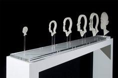 Anamorphic sculptures by Jonty Hurwitz (8 pics)