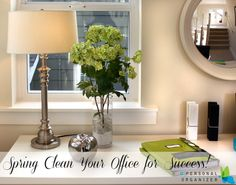 Spring cleaning your office to support growth and help you achieve your goals! Feng Shui tips for success with Gywnne Warner hosted by Helena Alkhas in this post packed with tips!
