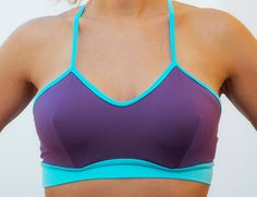 Fun Etsy things! MissPopkiss, $33.00 Bra Tops, Yoga Fitness, Free Shipping, Trending Outfits, Purple, Sexy, Sports, Fun, Clothes