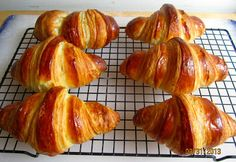 Brot & Meer: BUTTER-CROISSANTS - WIE IM HIMMEL vorsicht: viel Arbeit