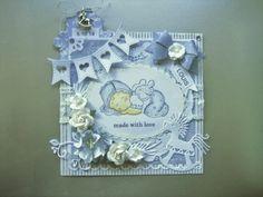 Renate Kreativ: Babykarte