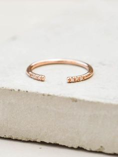 Open Band - Rose Gold
