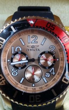 Authentic Mens Invicta watch pro Diver Chronograph w/resistant 330ft Style 15146 #Invicta