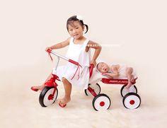 San Diego Newborn Photographer, San Diego Maternity Photographers, Baby and Family Photography in San Diego, California. Newborn Sibling, Newborn Photographer, Siblings, Picture Ideas, San Diego, Baby Strollers, Big, Children, Creative