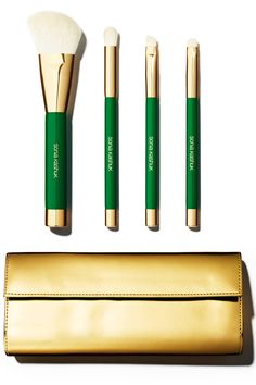 6 Makeup Brush Sets At Every Price Point. Sonia Kashuk Classic Chic 4-Piece Brush Set with Clutch, $21.99
