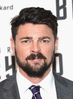 """Karl Urban attends the """"Star Trek Beyond"""" New York Premiere at Crosby Street Hotel on July 18, 2016 in New York City. - 'Star Trek Beyond' New York Premiere - Arrivals. Is he even real?"""