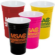 Why not provide a keepsake from your party? By replacing disposable #party cups, these #Solo Style #Tumblers will advertise your message time and time again. Not just available in classic red, you have a variety of colors to complement your #logo!