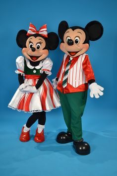 Minnie & Mickey ready for Christmas