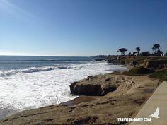 West Cliff Drive in Santa Cruz/ HWY 1 between San Francisco & Santa Cruz