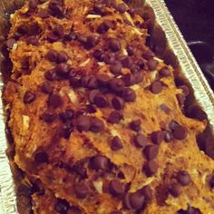 fitness & fro-yo; healthy peanut butter chocolate chip pumpkin bread