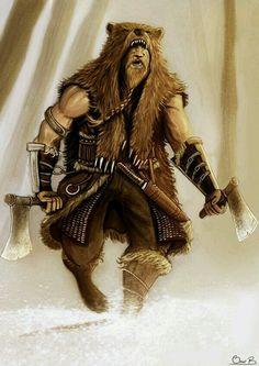 Dwarf Barbarian/Anão Bárbaro
