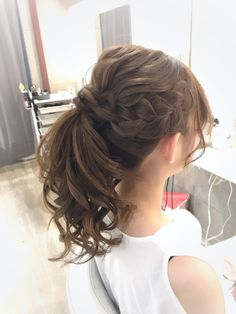 Hairstyles For Kids Highly Recommended Cool Hairstyles 2020 for Teenage Girls to Look Pretty and Nice Curled Hairstyles, Hairstyles Haircuts, Trendy Hairstyles, Homecoming Hairstyles, Wedding Hairstyles, Cotton Candy Hair, Messy Wedding Hair, Bridal Hairdo, Hair Arrange