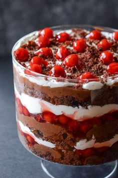 Black Forest Trifle - WomansDay.com