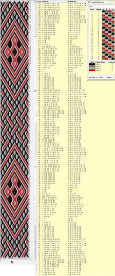 24 tarjetas, 4 colores, repite cada 72 movimientos // sed_219༺❁