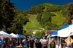 Aspen Saturday Market, Aspen, Colorado, Food Market, Family Vacation, Tourism, Travel, Vacation, Mountain View, Outdoor Activities, Family Activities