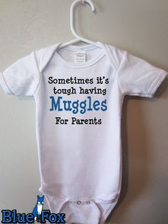 My husband was just saying yesterday that we were gonna have a wizard baby lol! Love it! :)