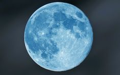 A 'real' blue Moon may be seen after a volcanic eruption