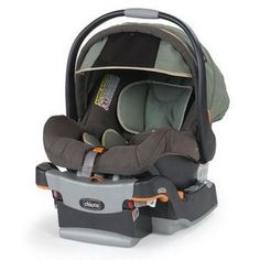 Your infant will stay safe with this Chicco car seat