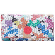 Kipling New Teddi Wallet (475 ZAR) ❤ liked on Polyvore featuring bags, wallets, spell binder, checkbook wallet, kipling wallet, pocket bag, kipling bags and pocket wallet