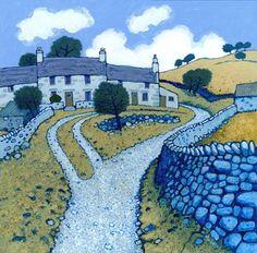 Chris Neale - Welsh Art - Ffin y Parc Gallery Landscape Quilts, Landscape Art, Landscape Paintings, Wall Art Prints, Fine Art Prints, Champs, Cottage Art, Modern Wall Art, Rock Art