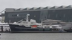 77.4M Mega Yacht LEGEND Launched at Icon Yachts
