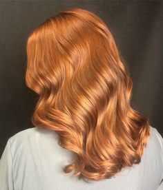 eeling this fiery, fresh color 🔥 from using 👉 + 20 vol 👏 Hair Brained, Hair Color, Long Hair Styles, Beauty, Instagram, Fresh, Colour, Hairstyle, Color