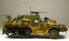 Dragon 1/35 scale M2A1 Half Track by Carlos Blanco: Image