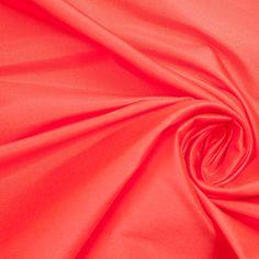 Fiery Red Silk Shantung/Dupioni